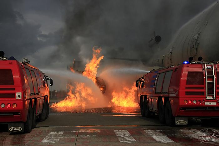 RVF Fire brigade Airport Schiphol